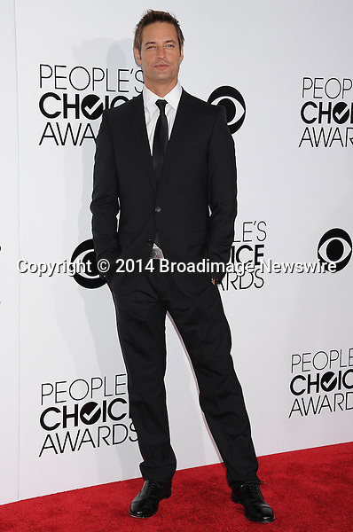 Pictured: Josh Holloway<br /> Mandatory Credit &copy; Gilbert Flores /Broadimage<br /> 2014 People's Choice Awards <br /> <br /> 1/8/14, Los Angeles, California, United States of America<br /> Reference: 010814_GFLA_BDG_279<br /> <br /> Broadimage Newswire<br /> Los Angeles 1+  (310) 301-1027<br /> New York      1+  (646) 827-9134<br /> sales@broadimage.com<br /> http://www.broadimage.com