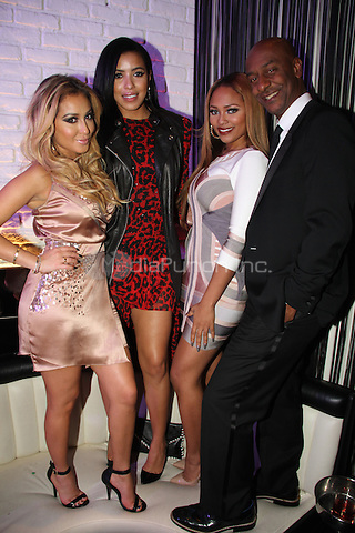 WEST HOLLYWOOD, CA - FEBRUARY 9, 2013..Young Jeezy & Julissa Bermudez attend NeYo's 5th Annual Midnight Brunch at STK February 9, 2013 in West Hollywood, California  Walik Goshorn / Mediapunchinc