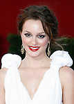 LOS ANGELES, CA. - September 20: Leighton Meester arrives at the 61st Primetime Emmy Awards held at the Nokia Theatre on September 20, 2009 in Los Angeles, California.