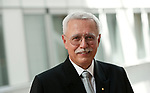 Brussels-Belgium - June 07, 2018 -- Philip WOLLEN, Australian philanthropist, animal rights activist, former Vice-President of Citibank and former General Manager at Citicorp, during a conference at the European Parliament -- Photo © HorstWagner.eu
