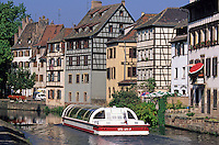 France,Alsace,Europe,Departement 67,Bas-Rhin,Strasbourg,'Petite France',Canal,Houses