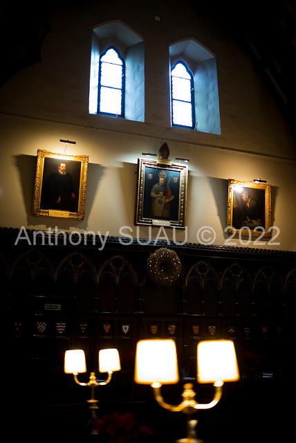 Oxford University, Oxford, United Kingdom<br /> November 28, 2018<br /> <br /> Merton College Hall.
