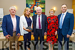 Paddy Weir (Chairman), Geraldine Parker, John and Eileen Brennan and Eamon Whelan attending the Crotta Social in the Ballyroe Heights Hotel on Friday.