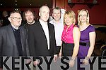 Enjoying themselves for Knocknagashel's Annual Social last Saturday night in The Devonn Inn, Templeglantine was Tom Greaney, Con Reidy, Brendan Brosnan, Maurice Stack, Catherine Brosnan and Sheila Stack.