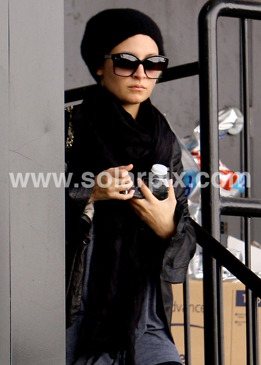 **ALL ROUND PICTURES FROM SOLARPIX.COM**                                             **SYNDICATION RIGHTS FOR UK AND SPAIN ONLY**                                                                                  Caption: Nicole Richie bundles up for the winter weather after leaving a gym this afternoon. Nicole is looking skinny as always, but not too skinny, USA, 22 November 2010                                                                              This pic: Nicole Richie                                                                                            JOB REF: 12518        STL       DATE: 22_11_2010                                                           **MUST CREDIT SOLARPIX.COM OR DOUBLE FEE WILL BE CHARGED**                                                                      **MUST AGREE FEE BEFORE ONLINE USAGE**                               **CALL US ON: +34 952 811 768 or LOW RATE FROM UK 0844 617 7637**