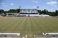 Cary, North Carolina  - Saturday August 19, 2017: Sahlen's Stadium prior to a regular season National Women's Soccer League (NWSL) match between the North Carolina Courage and the Washington Spirit at Sahlen's Stadium at WakeMed Soccer Park. North Carolina won the game 2-0.