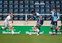 Sido Jombati of Wycombe Wanderers during the Sky Bet League 2 match between Wycombe Wanderers and Mansfield Town at Adams Park, High Wycombe, England on the 14th April 2017. Photo by Liam McAvoy.