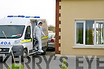 Murder Scene : Crime investigation Unit at the house in Ballyduff.