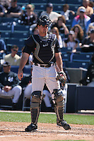 Ben Davis of the New York Yankees vs the Pittsburgh Pirates March 18th, 2007 at Legends Field in Tampa, FL during Spring Training action.  Photo By Mike Janes/Four Seam Images