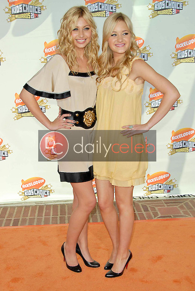 Aly Michalka and AJ Michalka<br />