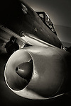 """German fighter jet plane close up. The Messerschmitt Me 262 Schwalbe (English: """"Swallow"""") of Nazi Germany was the world's first operational jet-powered fighter aircraft"""