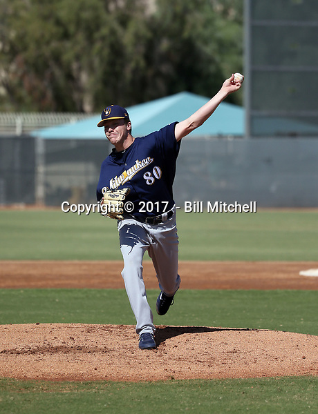 Brendan Murphy - 2017 AIL Brewers (Bill Mitchell)