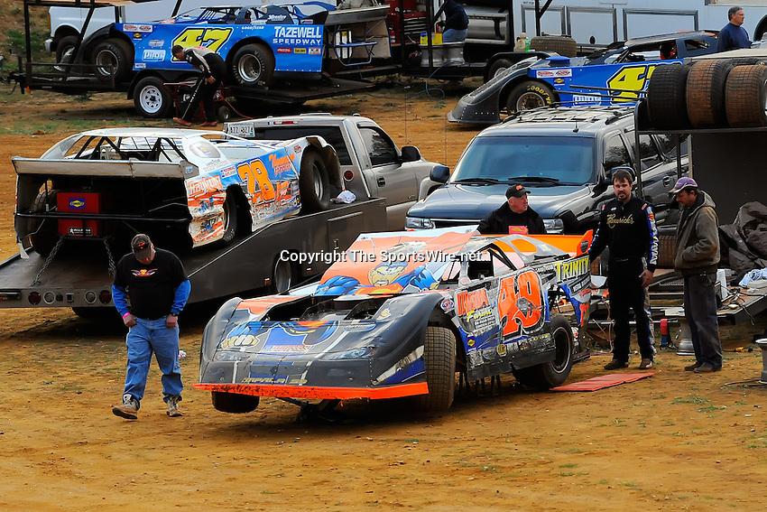 Oct 18, 2008; 5:07:17 PM;  Rural Retreat, VA, USA; FASTRAK Racing Series Grand Nationals race at Wythe Raceway. Mandatory Credit: (thesportswire.net)