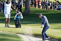 Jordan Spieth (USA) In action during the final round of the The Genesis Invitational, Riviera Country Club, Pacific Palisades, Los Angeles, USA. 15/02/2020<br /> Picture: Golffile | Phil Inglis<br /> <br /> <br /> All photo usage must carry mandatory copyright credit (© Golffile | Phil Inglis)
