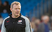 Saracens' Head Coach Mark McCall<br /> <br /> Photographer Bob Bradford/CameraSport<br /> <br /> Gallagher Premiership Round 10 - Exeter Chiefs v Saracens - Saturday 22nd December 2018 - Sandy Park - Exeter<br /> <br /> World Copyright &copy; 2018 CameraSport. All rights reserved. 43 Linden Ave. Countesthorpe. Leicester. England. LE8 5PG - Tel: +44 (0) 116 277 4147 - admin@camerasport.com - www.camerasport.com