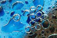 IMMISCIBILITY: WATER DROPS IN OIL
