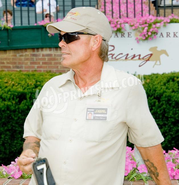Mark Bivens at Delaware Park on 7/28/12