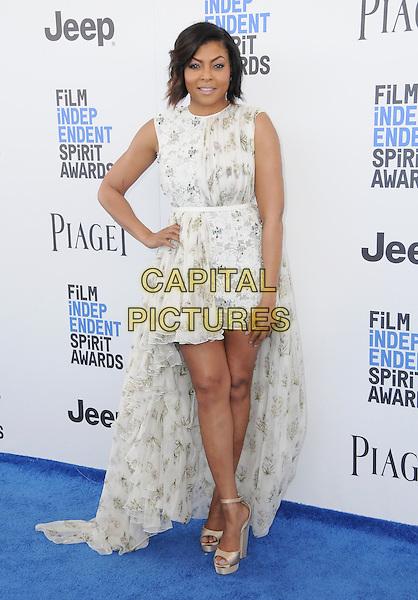 25 February 2017 - Santa Monica, California - Taraji P. Henson. 2017 Film Independent Spirit Awards held held at the Santa Monica Pier.  <br /> CAP/ADM/BT<br /> &copy;BT/ADM/Capital Pictures