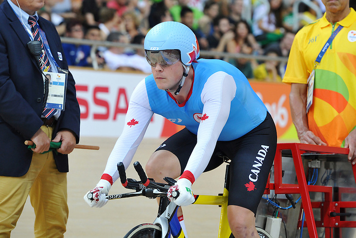 Wilson Ross  compete in the Para-Cycling qualification 3000m individual Pursuit  final at the Rio 2016 Paralympic Games , he finished second, he gets the Silver medal. (Photo by Jean-Baptiste Benavent/Canadian Paralympic Committee.