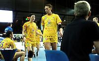 Handball Frauen / Damen  / women 1. Bundesliga - DHB - HC Leipzig : Frankfurter HC - im Bild: Anne Müller (l.) und Luisa Schulze (r.) . Foto: Norman Rembarz .
