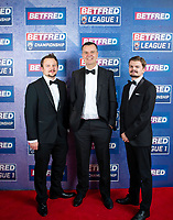 Picture by Allan McKenzie/SWpix.com - 25/09/2018 - Rugby League - Betfred Championship & League 1 Awards Dinner 2018 - The Principal Manchester- Manchester, England - Red carpet, Mark Pearson.