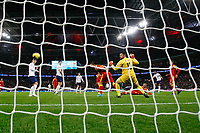 Marcus Rashford of England scores to make it 4-0 during the UEFA Euro 2020 Qualifying Group A match between England and Montenegro at Wembley Stadium on November 14th 2019 in London, England. (Photo by Matt Bradshaw/phcimages.com)<br /> Foto PHC Images / Insidefoto <br /> ITALY ONLY