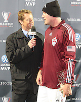 at MLS Cup 2010 at BMO Stadium in Toronto, Ontario on November 21 2010. Colorado won 2-1 in overtime.