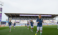 20160526 - REGGIO EMILIA , ITALY : Wolfsburg's Tessa Wullaert (10) pictured during warming up of a womensoccer match between the teams of  VFL Wolfsburg Frauen and Olympique Lyon , during the final of the Uefa Women Champions League 2015 - 2016 in Stadio citta del tricolore Stadium , Reggio Nell Emilia - Italy , Thursday 26 May 2016 . PHOTO SPORTPIX.BE / DAVID CATRY
