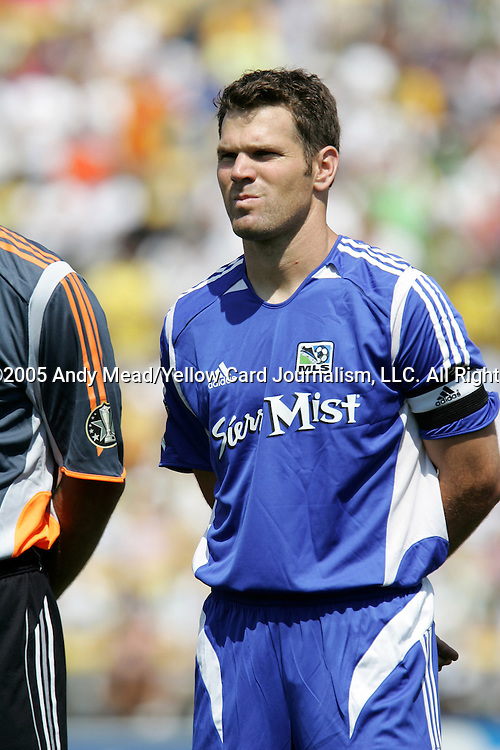 30 July 2005: Greg Vanney. Major League Soccer's All-Stars defeated Fulham FC of the English Premier League 4-1 at Columbus Crew Stadium in Columbus, Ohio in the 2005 Sierra Mist MLS All-Star Game.