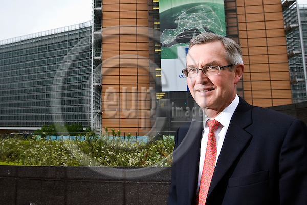 BRUSSELS - BELGIUM - 29 May 2013 -- Hans-Ole Jochumsen, President of Nasdaq OMX Nordic and  Executíve Vice President Nasdaq OMX Group. -- PHOTO: Juha ROININEN /  EUP-IMAGES