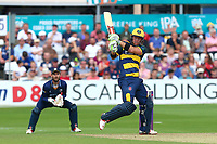 Colin Ingram hits out for Glamorgan during Essex Eagles vs Glamorgan, NatWest T20 Blast Cricket at The Cloudfm County Ground on 16th July 2017