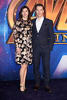"Sophie Hunter and Benedict Cumberbach<br /> arriving for the ""Avengers: Infinity War"" fan event at the London Television Studios, London<br /> <br /> ©Ash Knotek  D3393  08/04/2018"