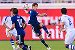 Sasaki Sho of Japan (C) in action during the AFC Asian Cup UAE 2019 Group F match between Japan (JPN) and Uzbekistan (UZB) at Khalifa Bin Zayed Stadium on 17 January 2019 in Al Ain, United Arab Emirates. Photo by Marcio Rodrigo Machado / Power Sport Images