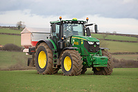 Applying TSP to Winter Wheat<br /> &copy;Tim Scrivener Photographer 07850 303986<br />      ....Covering Agriculture In The UK....