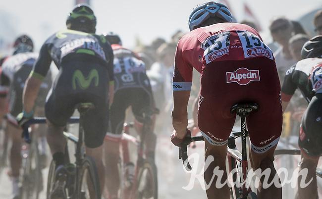 Nils Politt (DEU/Team Katusha-Alpecin)<br /> <br /> 115th Paris-Roubaix 2017 (1.UWT)<br /> One Day Race: Compi&egrave;gne &rsaquo; Roubaix (257km)