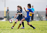 Egan 7th Grade girls soccer championship match vs Cupertino at Hyde Middle School in Cupertino.  February 4, 2016