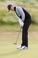 Mikko Ilonen (FIN) putts on the 13th green during Thursday's Round 1 of the 2018 Dubai Duty Free Irish Open, held at Ballyliffin Golf Club, Ireland. 5th July 2018.<br /> Picture: Eoin Clarke | Golffile<br /> <br /> <br /> All photos usage must carry mandatory copyright credit (&copy; Golffile | Eoin Clarke)