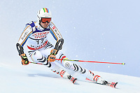 February 17, 2017: Stefan LUITZ (GER) competing in the men's giant slalom event at the FIS Alpine World Ski Championships at St Moritz, Switzerland. Photo Sydney Low