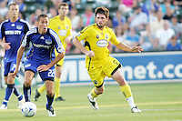 Davy Arnaud #22, Danny O'Rourke..Columbus Crew defeated Kansas City Wizards 2-0 at Community America Ballpark, Kansas  City, Kansas.