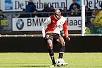 Nederland, Den Haag, 22 april 2012.Seizoen 2011/2012.Eredivisie.Ado Den Haag-Feyenoord.Bruno Martins Indi van Feyenoord in actie met de bal