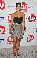 Fiona Wade at the TV Choice Awards 2018, The Dorchester Hotel, Park Lane, London, England, UK, on Monday 10 September 2018.<br /> CAP/CAN<br /> &copy;CAN/Capital Pictures