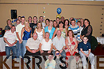 SURPRISE: A surprise 40th birthday party was held for Darren O'Reilly, Hawley Park, Tralee (seated centre) at The Abbey Gate Hotel on Friday by his family and friends..