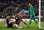 Wesley of Aston Villa misses another chance during the Premier League match at Villa Park, Birmingham. Picture date: 25th November 2019. Picture credit should read: Darren Staples/Sportimage