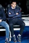 Coach Miguel Angel Sanchez Munoz Rayo Vallecano during La Liga match between Real Madrid and Rayo Vallecano at Santiago Bernabeu Stadium in Madrid, Spain. December 15, 2018. (ALTERPHOTOS/Borja B.Hojas)