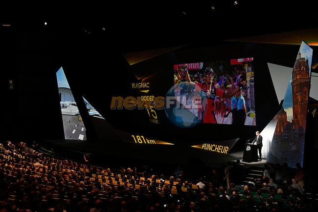 Tour de France 2017 - 18/10/2016 - Palais des congres - Paris - France - Presentation du parcours - Ambiance