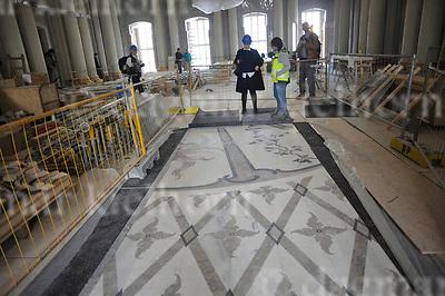 April 24-17,Staatsoper Unter den Linden,Berlin,Germany<br /> Staatsoper Unter den Linden reopens on 3rd october 2017<br /> Inside the building,floor of Apollosaal