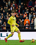 Daniel Rabaseda Antolin, Raba, of Villarreal CF in action during the La Liga 2017-18 match between Valencia CF and Villarreal CF at Estadio de Mestalla on 23 December 2017 in Valencia, Spain. Photo by Maria Jose Segovia Carmona / Power Sport Images