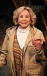 Michael Learned during the Off- Broadway Opening Night Performance Curtain Call for the Delaware Theatre Company Production of 'The Outgoing Tide'  at 59E59 Theatre in New York City on 11/20/2012.