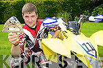 Colin O'Donoghue, Killarney, who won his class of round 2 of the South Western Motocross in Mitchelstown, Cork, on Sunday.