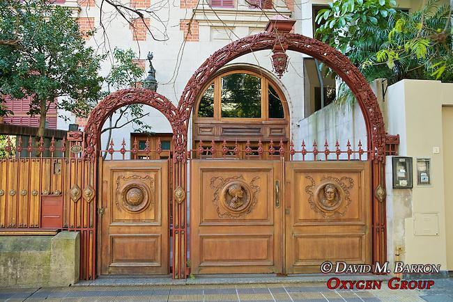 Carved Wooden Entrance Doors